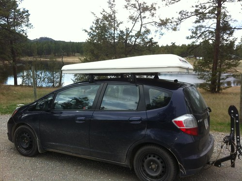 IMG_0274 by thewwkayaker on Flickr & Fit Tent - Unofficial Honda FIT Forums