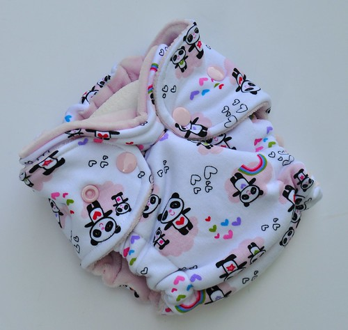 Bumstoppers Newborn Pandas Fitted **New Style**