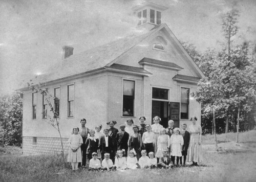 Byrneville School later named Palisades School | by IndianPrairie