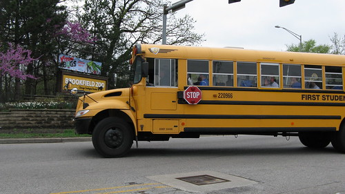 First Student International school bus. Brookfield Illinois USA. Saturday, March 24th, 2012. by Eddie from Chicago