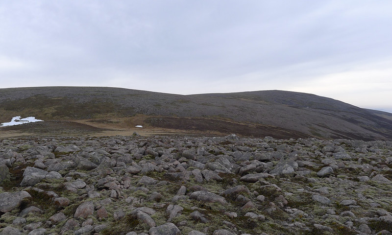 Upper slopes of Beinn Dearg