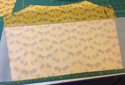creating a pattern piece for slip pocket