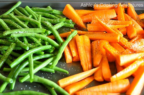 Ashley's Cooking Adventures: Honey Balsamic Glazed Roasted Carrots and ...