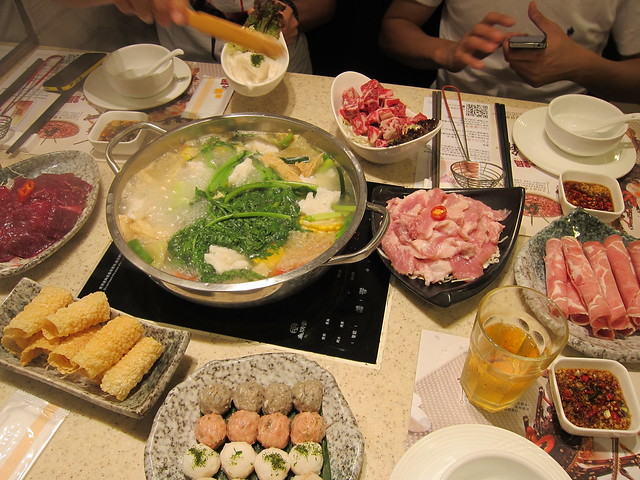 Hotpot Dinner at Roast Pot