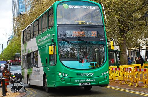 Bus WiFi 23 Bus in Birmingham UK