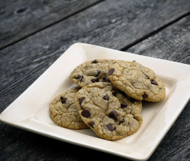 Browned butter chocolate chip cookies from Flickr via Wylio