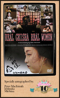 Specially Autographed Copy of Real Geisha Real Women