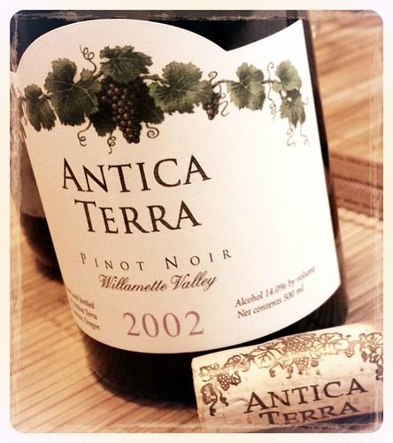 2002 Antica Terra Pinot Noir