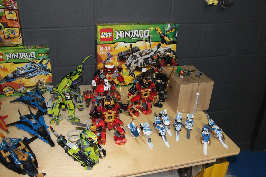 New Ninjagos together with prototypes part 2
