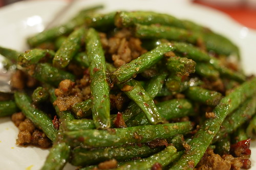 grilled hot green bean
