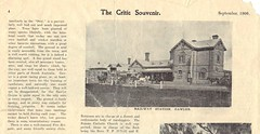 The Critic Souvenir sep1906  page4 Gawler Railway Station