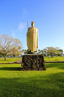 Image of Kamehameha. vacation hawaii hawai'i hilo hawai