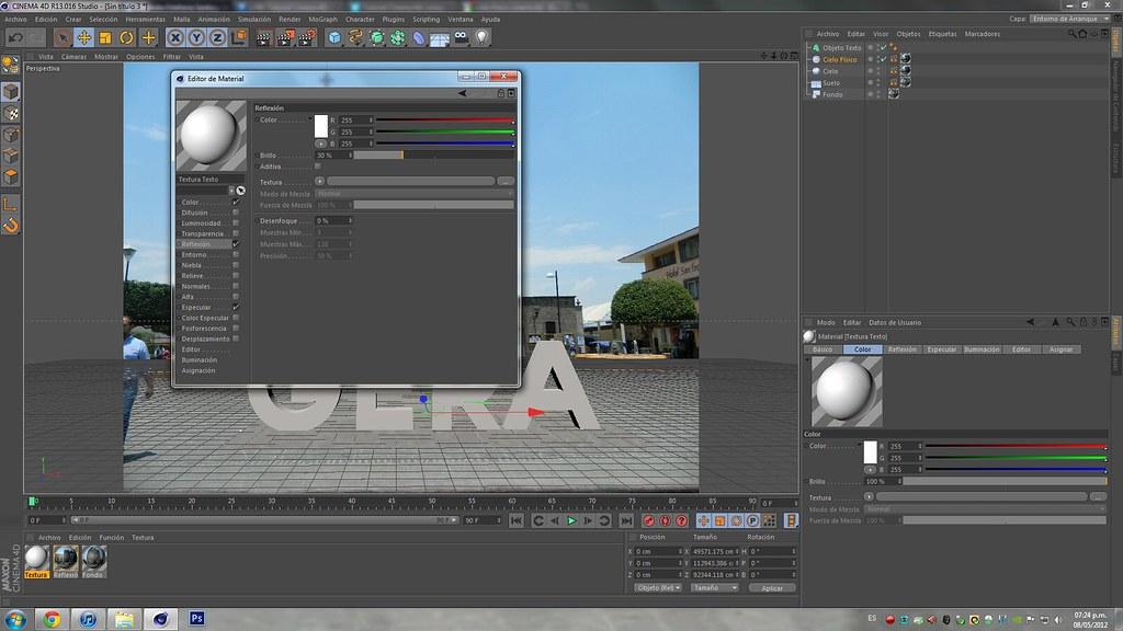 Cinema 4D | Composición realista | Tutorial
