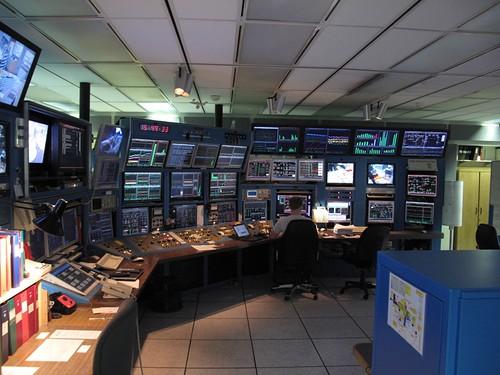 TRIUMF control room