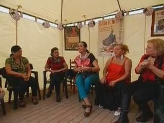 video 8 Taller aprendizaje palmas impartido por Amparo Navarro V Feria abril Las Palmas de Gran Canaria 2012