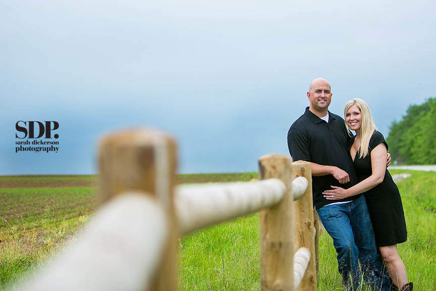 Olathe Kansas engagement photography