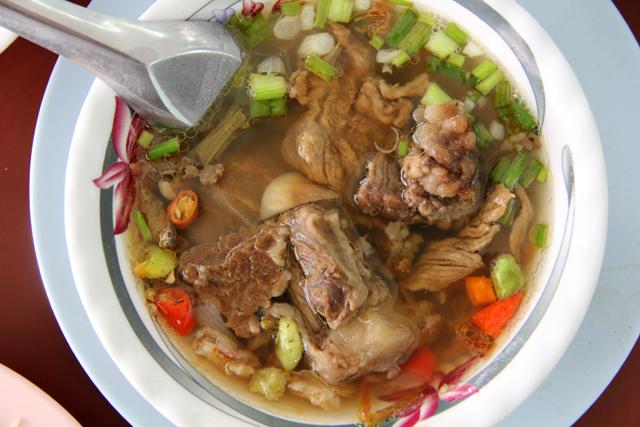 Soup Neua (Beef Soup) ซุปเนื้อ