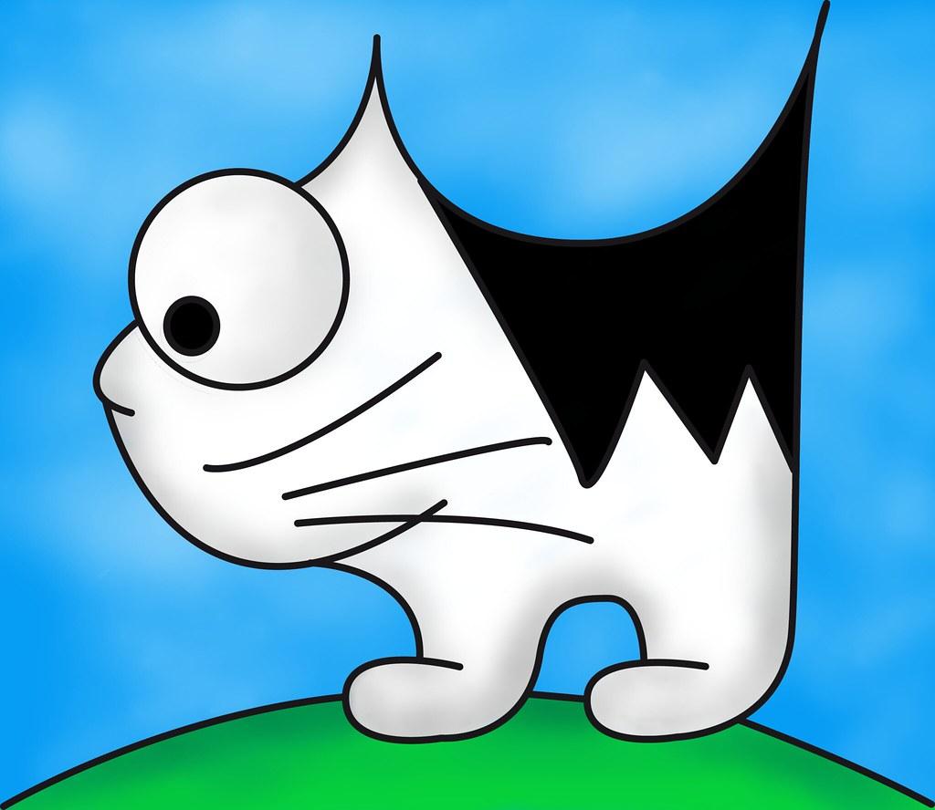 une chat
