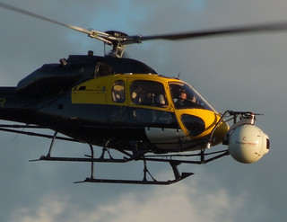 Helicopters at Tower Bridge, 9/6/12