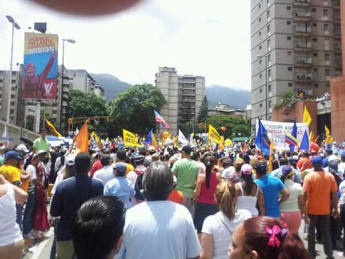 Caminata-PlazaVenezuela