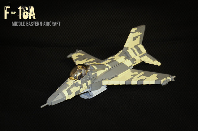 F-16A -Middle Eastern Camo-