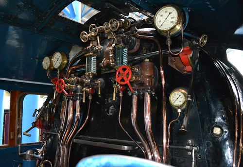 Class A4, 4468 'Mallard' Footplate