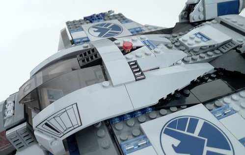 6869 Quinjet Red Button