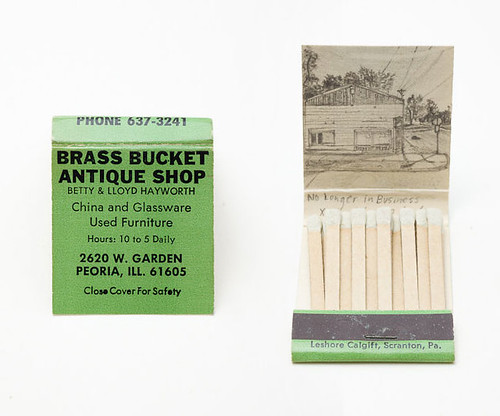 KRISTA CHARLES MATCHBOOKS