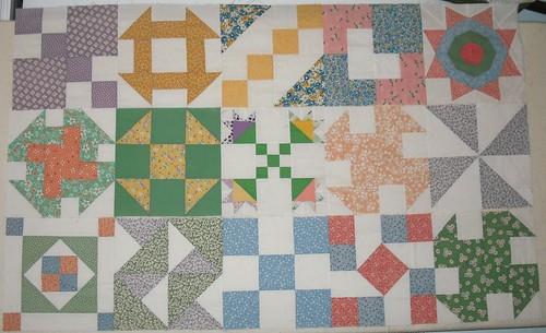 1030's repro sampler quilt