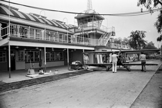 Biplane at Knott's Berry Farm, 1976