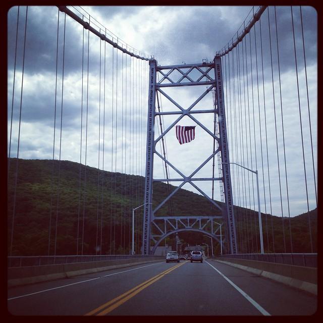 Cruzando el Hudson