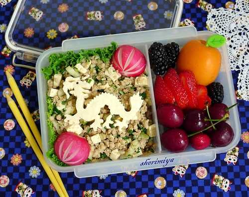 Mabo Tofu Dragon Bento by sherimiya ♥