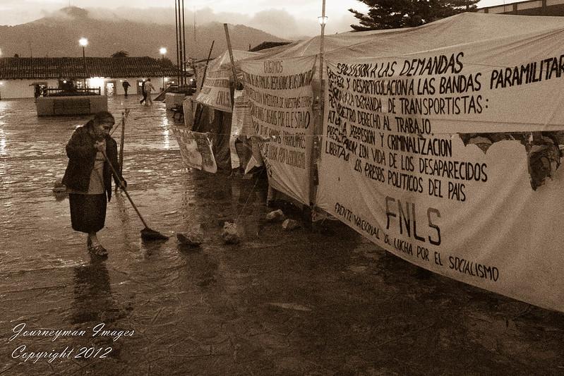 Zapatista Protest in San Cristobal da las Casas