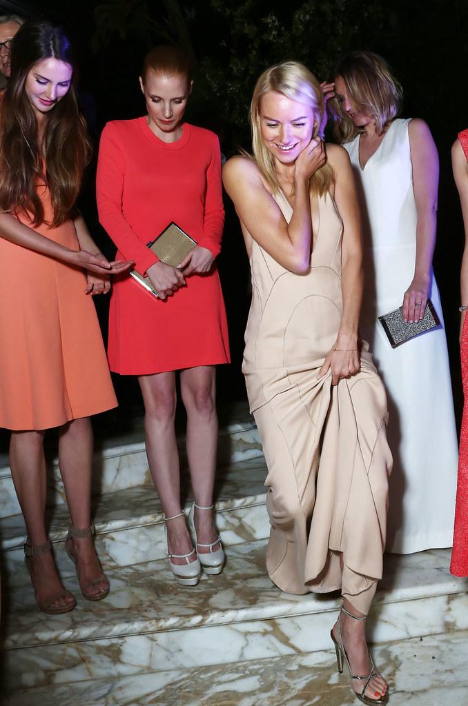 Shailene Woodley, Jessica Chastain, Naomi Watts