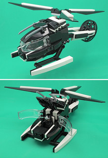 Echo/Ronin's Copter Flight Mode + Landed