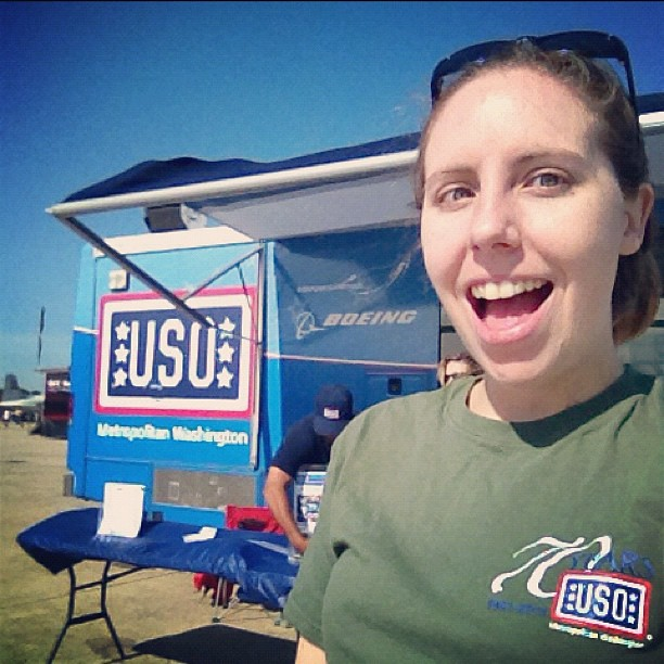 USO Mobile gets my #ExcitedFace. And also my where-are-all-the-freaking-people-I'm-bored face.