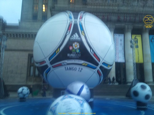 Giant Euro 2012 Football by TsarlackONLINE