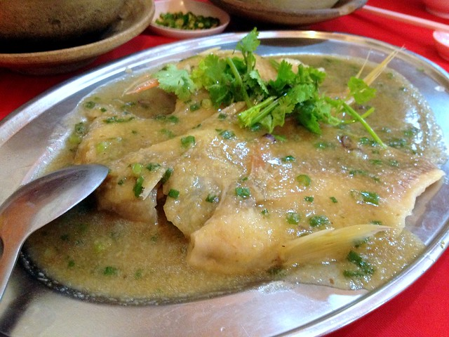 Tilapia with Ginger Sauce