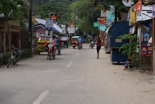 El Nido Main and only street