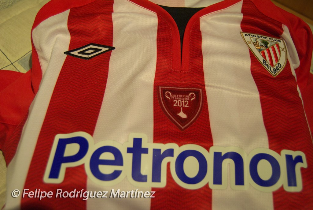 Camiseta Athletic Bilbao - Copa del Rey 2012