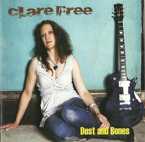 Clare Free Dust & Bones CD Cover