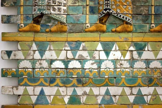 Mosaic detail Pergamon Museum