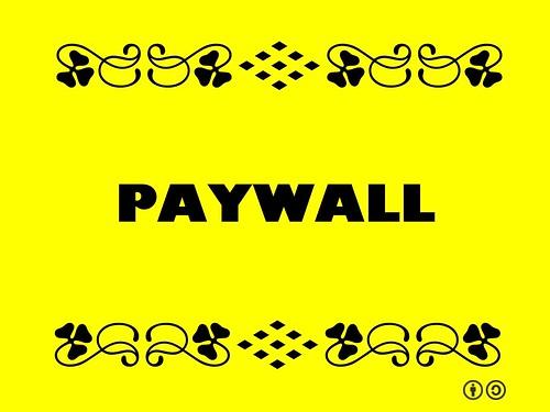 Buzzword Bingo: Paywall