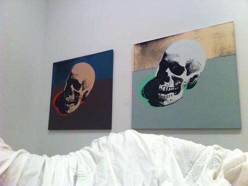 warhol skulls