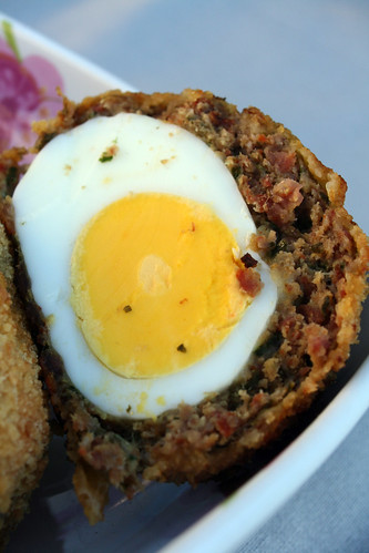 7293114954 d518b08be1 Scotch eggs au Chorizo