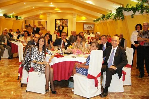Alcalde de Malaga y Autoridades