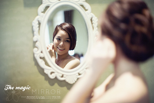 Mirror..mirror..Am I beautiful?