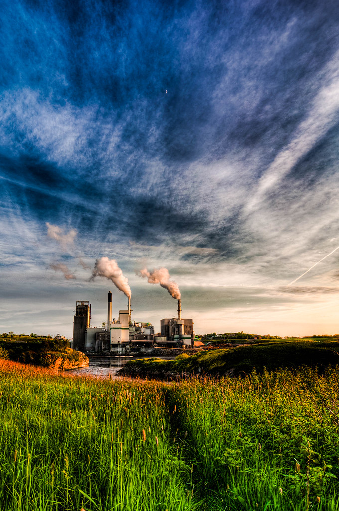 Irving Pulp Mill HDR