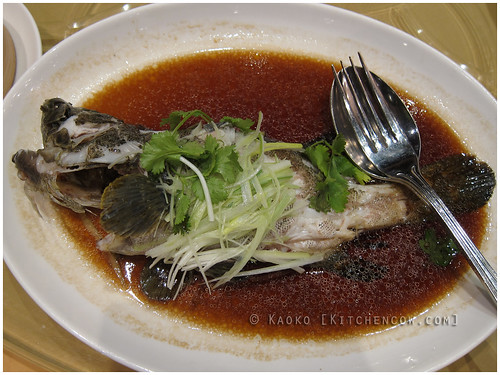 New World Hotel's Jasmine - Steamed Garoupa