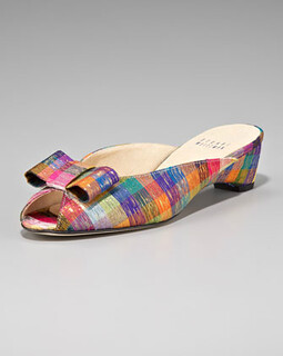 Stuart Weitzman Tinsel Slip-On Mule NM Retail $325 on sale for $217